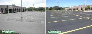 Parking Lot Repair in Addison Texas - Commercial construction